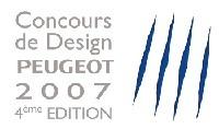 Et le vainqueur du 4e concours de Design Peugeot est.....