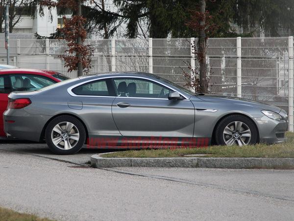 Nouvelle BMW Série 6 coupé : nu intégral