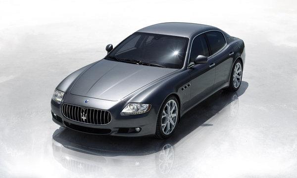 Maserati Quattroporte : le restylage en avant-première