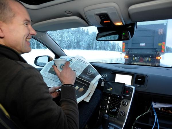 Projet Sartre : Volvo veut vous faire lâcher le volant sur autoroute !
