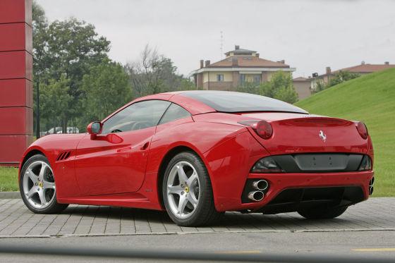 Ferrari California : premiers essais et premières photos nature !