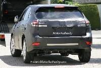 Lexus RX: nouvelle génération début 2009