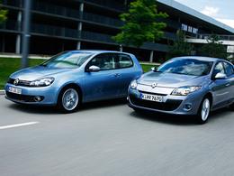 Marché Europe : Renault, deuxième derrière Volkswagen