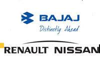 Renault-Nissan et Bajaj Auto: nouvelles ambitions