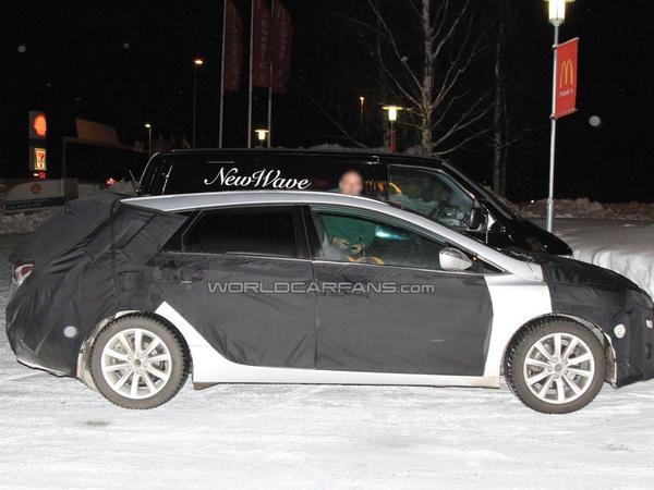 Spyshot : la Hyundai i40 se prépare pour Genève