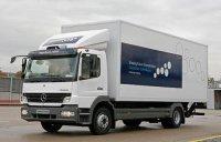 Salon Pollutec 2008 : Mercedes-Benz Atego BlueTec Hybrid