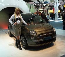 "Fiat 500 ""Diesel"" : fashion vitrine"