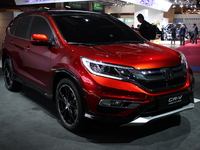 Honda CR-V Concept : futur restyling - En direct du salon de Paris 2014