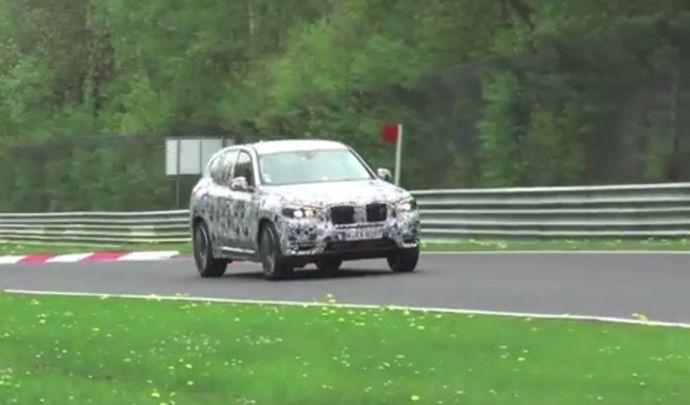 Scoop : le futur BMW X3 affronte le Nürburgring