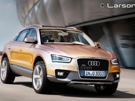Nouvel Audi Q3 : rendez-vous à Shanghaï en avril