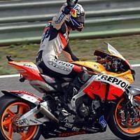 Moto GP: Portugal: Podium: 2 Pedrosa
