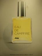 """Insolite : Jeep lance son parfum... """"feu de camp"""""""