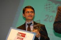 Un Oxygen Award 2008 remis au camion hybride Volvo Trucks