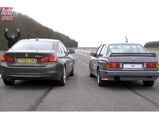 Drag Race : BMW M3 E30 vs BMW F30 320d, l'ancienne sera-t-elle humiliée ?