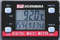 Yoshimura Multi Meter : indicateur de température mais pas que…