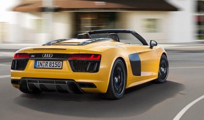 Audi : la R8 Spyder disponible à partir de 184000€