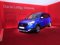 Dacia Lodgy et Dokker Stepway, success serie - Vidéo en direct du salon de Paris 2014
