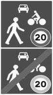 """C'est officiel : la vitesse peut être limitée à 20 km/h dans les """"zones de rencontre"""""""