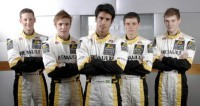 Voici la promotion 2007 du Programme Renault Driver Development