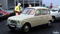 Miniature : 1/43ème - RENAULT R4 Super