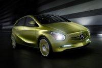 Salon de Détroit 2009 : le Concept Mercedes BlueZero E-Cell