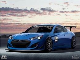 Hyundai Genesis Coupé GT3: c'est elle!