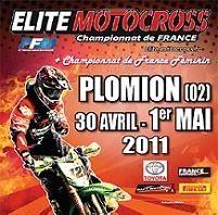 Motocross : Championnat de France Elite et féminin à Plomion dimanche 1er Mai