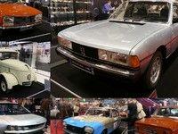 Peugeot avec des anciennes... et la E-Legend - Vidéo en direct de Rétromobile 2019