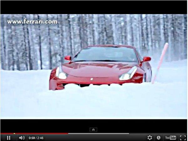 [vidéo] Markku Alen attaque en Ferrari FF sur la neige