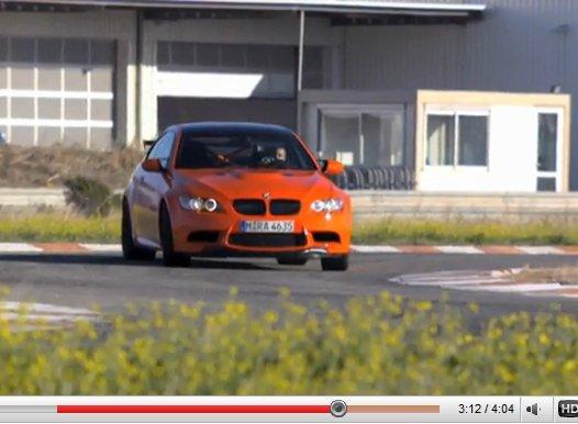 [vidéos] La BMW M3 GTS montre ce qu'elle sait faire