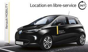 Renault lance un service d'autopartage baptisé Mobility