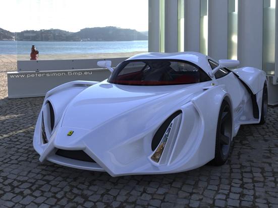 [Design] Ferrari Enzo par Peter Simon. Aïe