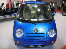 La CHIKA électrique, une chinoise tout en rondeur