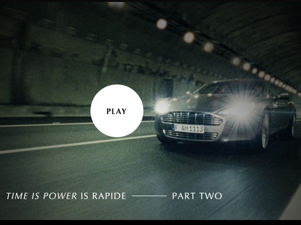"Aston Martin Rapide ""True power should be shared"" : 2eme épisode"
