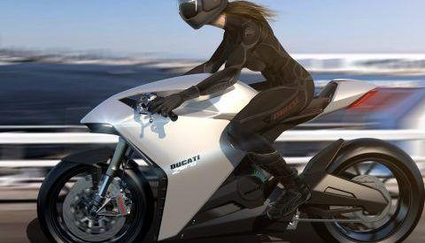 Vidéo: Ducati donne son idée d'une moto électrique