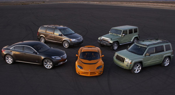 Chrysler abandonne tous les projets de véhicules électriques