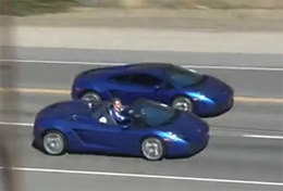 [Vidéo] Un peu de rêve en Lamborghini Gallardo à Los Angeles