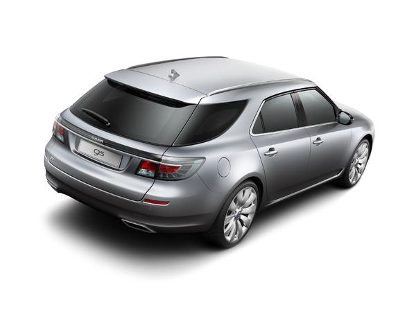 Nouvelle Saab 9-5 Estate pour Genève