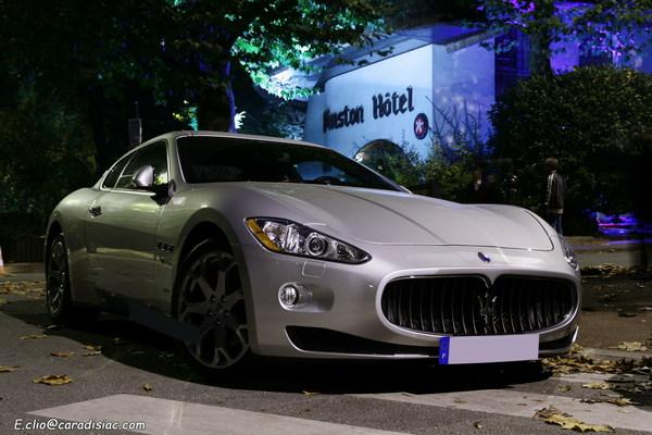 Photos du jour : Maserati Gran turismo