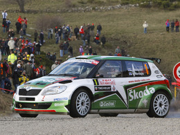 Monte Carlo 2011 - Deux Skoda en tête au terme de la 1ère étape