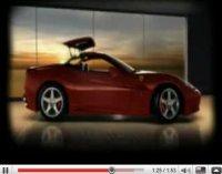 Vidéo : la Ferrari California s'ouvre au monde (attentif)