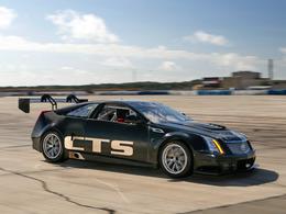 La Cadillac CTS-V Coupé Race roule
