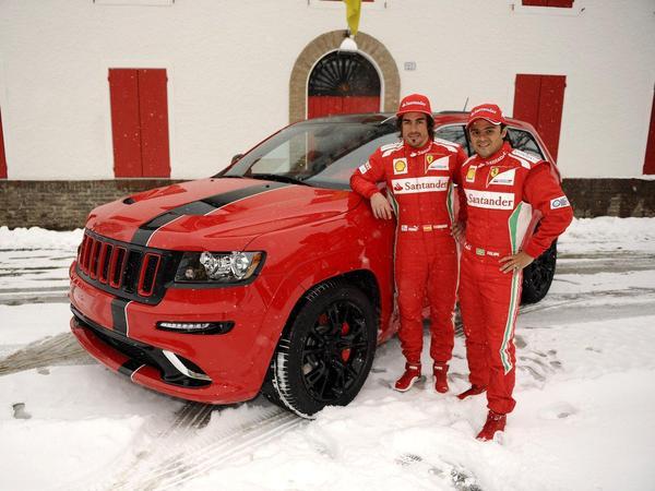 Jeep Grand Cherokee SRT8 à la sauce Ferrari