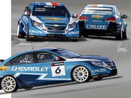 WTCC - Les nouvelles couleurs de Chevrolet et d'Yvan Muller