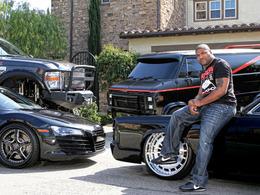 Le garage de Quinton Rampage Jackson