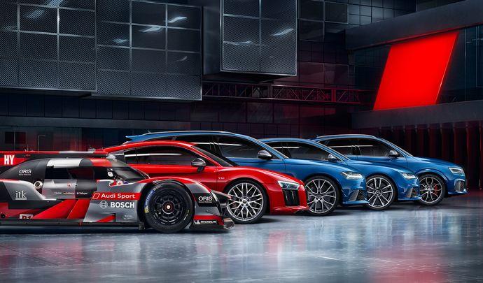 Audi Sport prévoit cinq nouveautés d'ici 2020