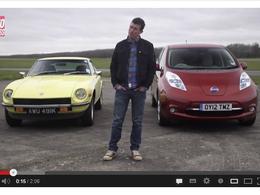 Drag Race : Nissan Leaf vs Datsun 240Z, quand même pas ?