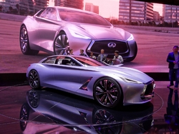 Infiniti Q80 Inspiration Concept : Prometteuse ! - En direct du Salon de Paris 2014