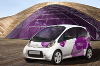 Future Citroën C-Zero : la i-MiEV aux chevrons