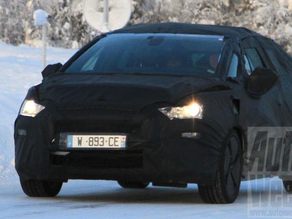 La future Citroën DS5 se camoufle